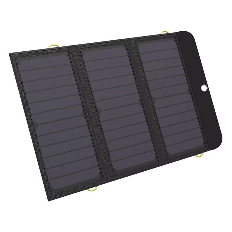 Solcelleoplader